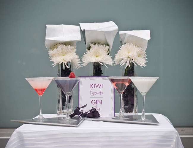 Wedding Cocktail Hour Decor - Inspired by This