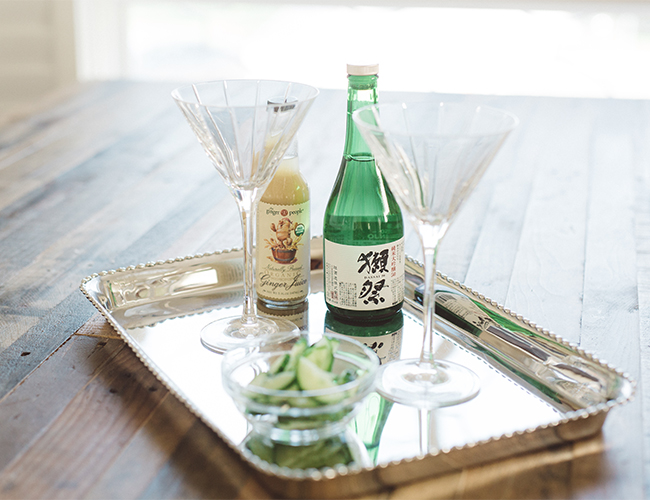 Gluten Free Sake Cocktail - Inspired by This