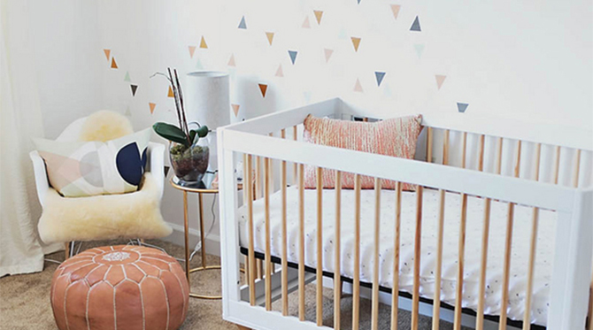 Cool Geometric Nursery - Inspired by This