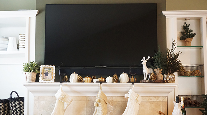 How to Decorate Your Mantel - Inspired by This