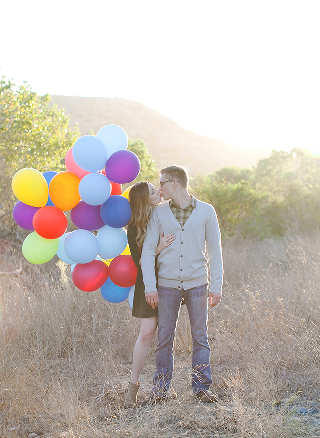 Adorable Up! Themed Engagement Shoot - Inspired by This