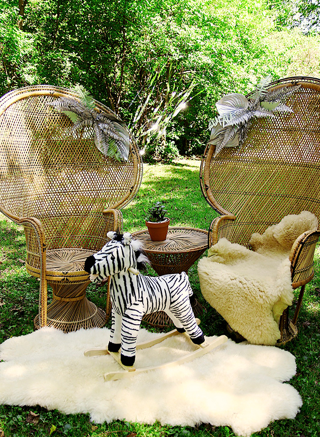 Silver & Green Zebra Baby Shower - Inspired by This