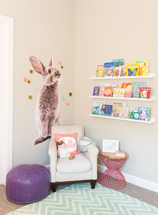 Pink & Purple Floral Nursery - Inspired by This