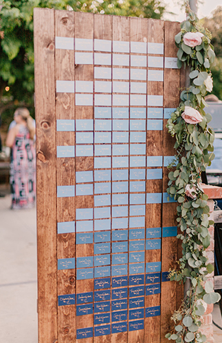 Pink & Blue Ranch Wedding - Inspired by This