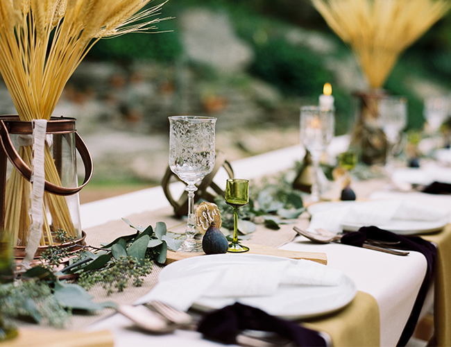 Field Inspired Thanksgiving Table - Inspired by This
