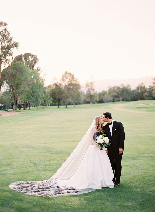 Ojai Black & White Wedding - Inspired by This