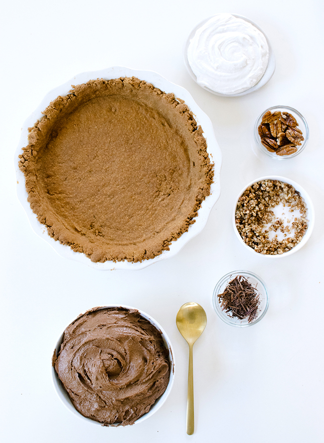 Vegan Chocolate Cream Pie Recipe - Inspired by This