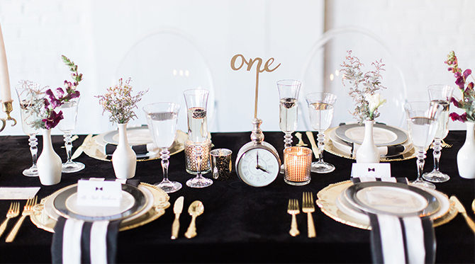 New Year's Eve Wedding inspiration - Inspired by This