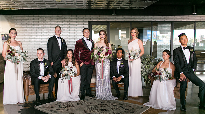 21 Holiday Inspired Wedding Ideas