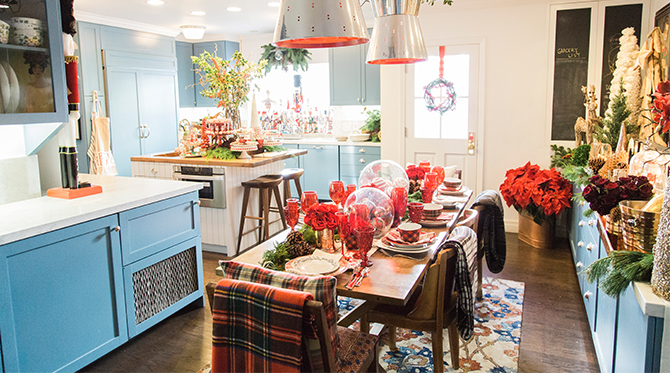 Mindy Weiss Holiday Home Tour - Inspired by This
