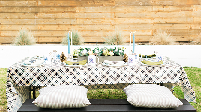 Navy & Gold Baby Shower - Inspired by This