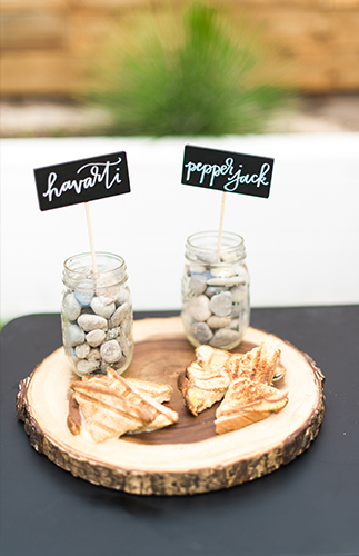 Navy & Gold Campfire Baby Shower - Inspired by This