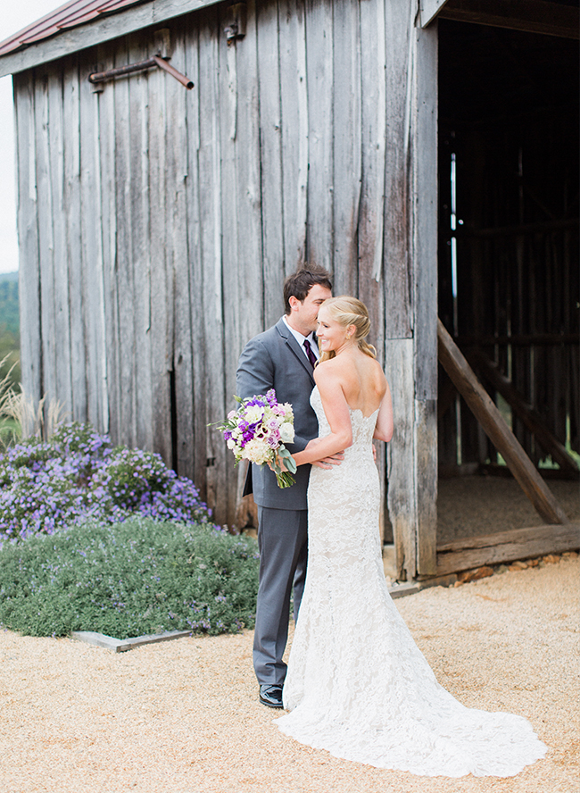Romantic Lavender Vineyard Wedding - Inspired by This