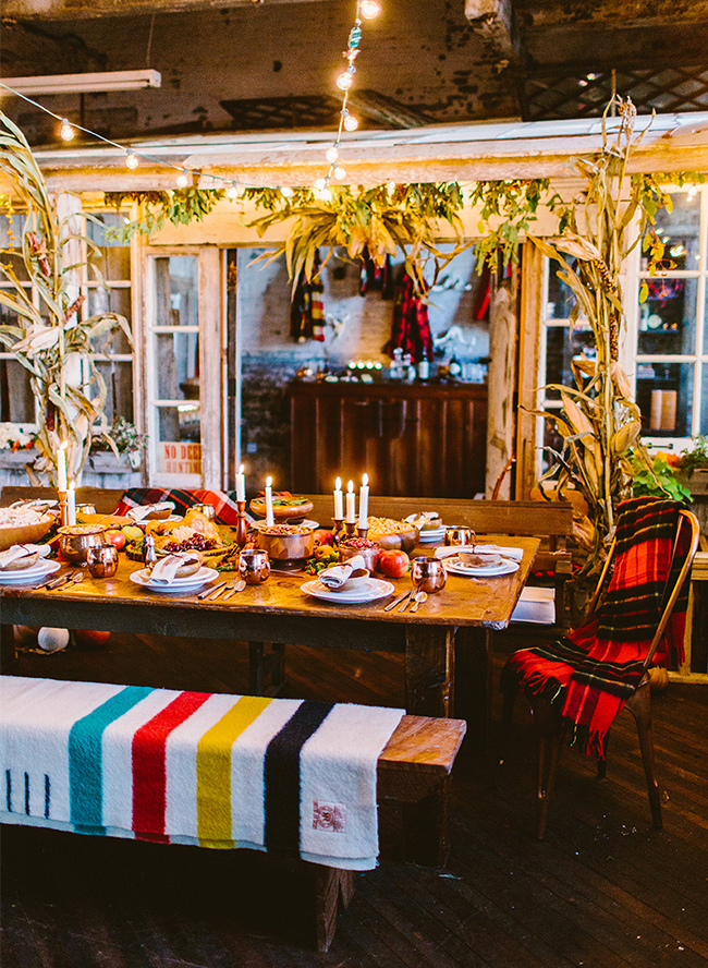 Cozy Cabin Holiday Dinner - Inspired by This