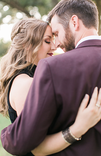 Pink & Plum Engagement Session - Inspired by This