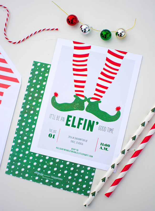 Elf on the Shelf Holiday Kids Party - Inspired by This
