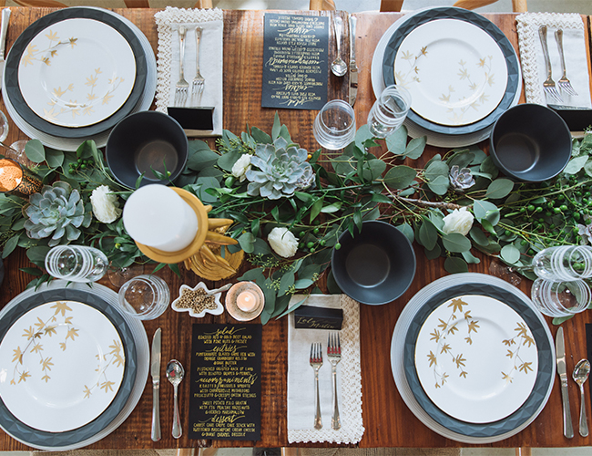 Farm to Table Holiday Dinner - Inspired by This
