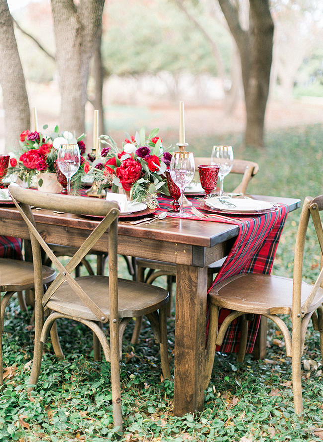 Outdoor Christmas Dinner Party - Inspired by This