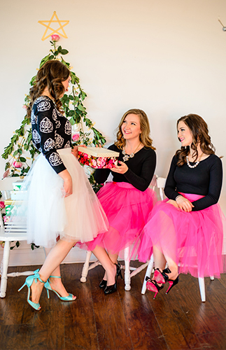 Will You Be My Bridesmaid Christmas Party Inspired by This