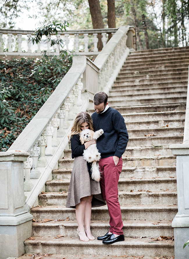 Newlywed Holiday Photo Session - Inspired by This
