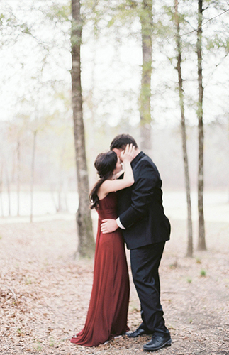 Black Tie Engagement Session - Inspired by This