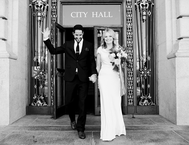 San Fransisco City Hall Elopement - Inspired by This