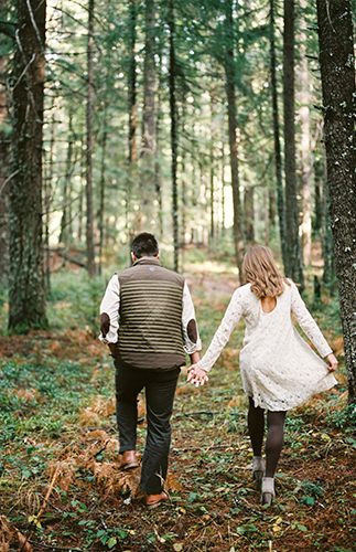 Oregon Engagement Session - Inspired by This