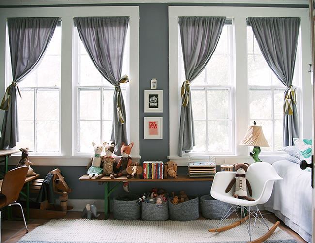 Grey Americana Kids Room - Inspired by This