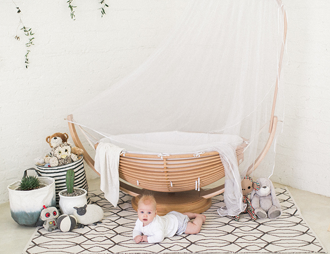 Simple and Organic Nursery - Inspired by This