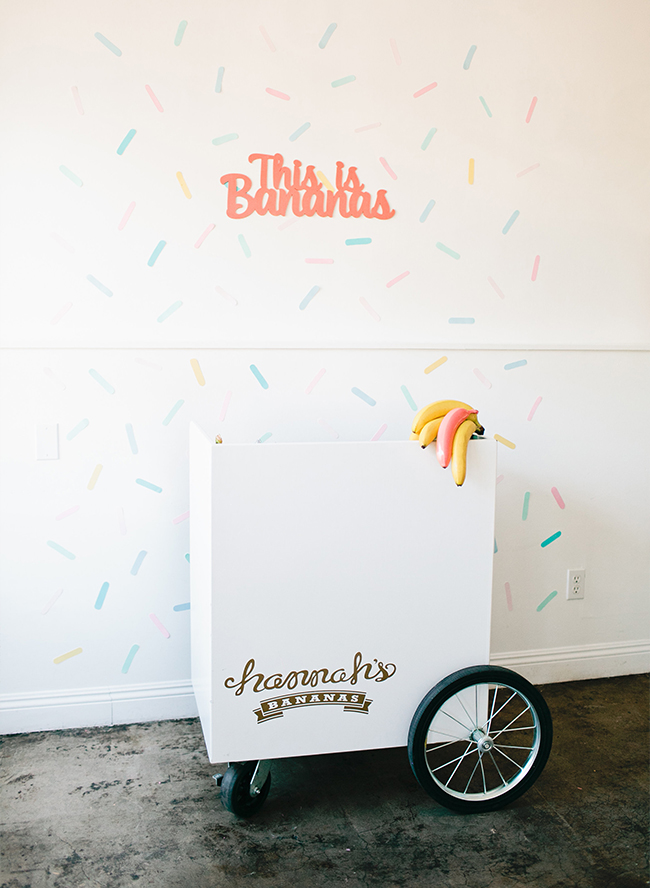 Bananas & Ice Cream First Birthday Party - Inspired by This