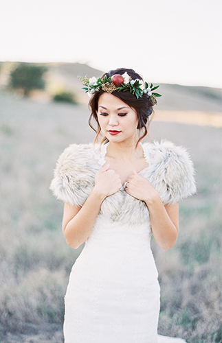 Winter Berry Wedding Inspiration - Inspired by This