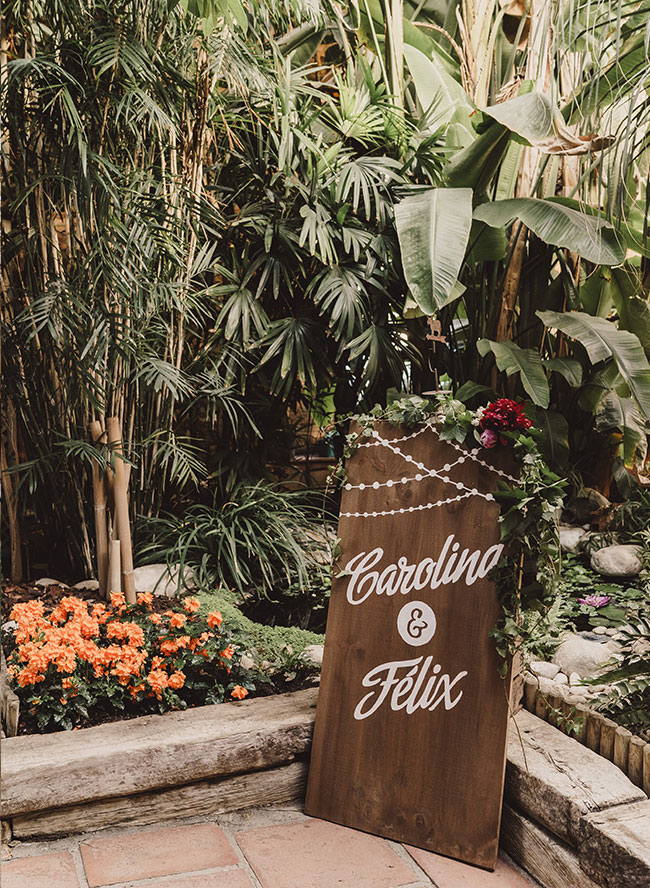 Botanical Barcelona Wedding - Inspired by This
