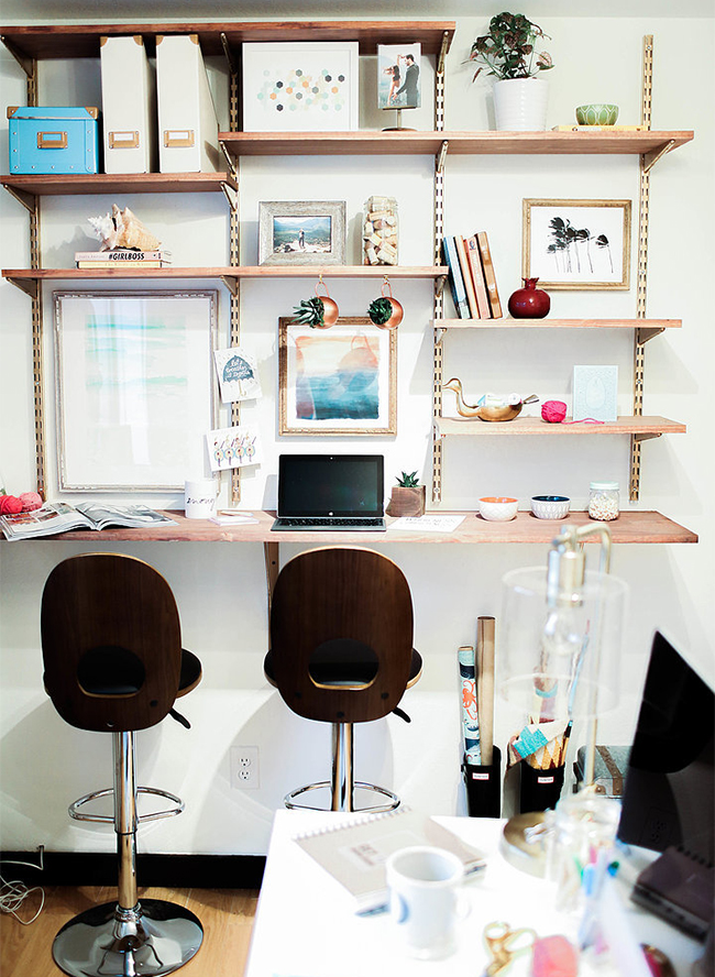 Desiree Hartsock's Office Makeover - Inspired by This