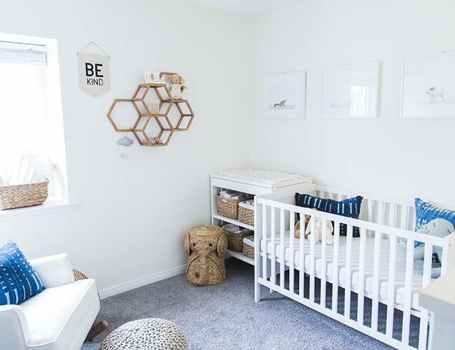 Our Editor's Neutral & Navy Nursery - Inspired by This