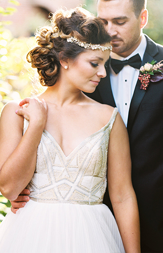 Beautiful Berry Wedding Inspiration - Inspired by This