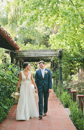 Blush & Nude Rancho Las Lomas Wedding - Inspired by This