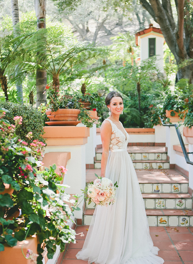 Nude & Blush Rancho Las Lomas Wedding - Inspired by This