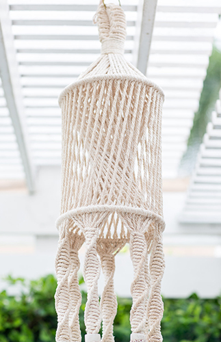 All White Macrame Baby Shower - Inspired by This