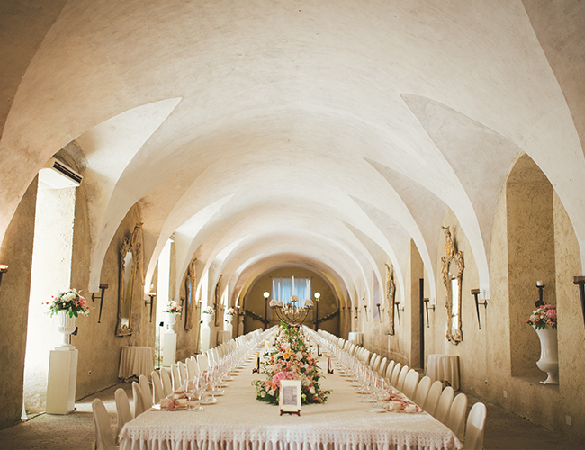 Romantic Pink Italian Wedding - Inspired by This