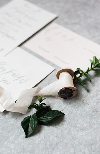 Modern White Wedding Inspiration - Inspired by This
