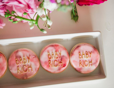 Bohemian Pink Watercolor Baby Shower - Inspired by This