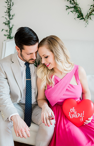 Valentine's Day Pregnancy Announcement - Inspired by This