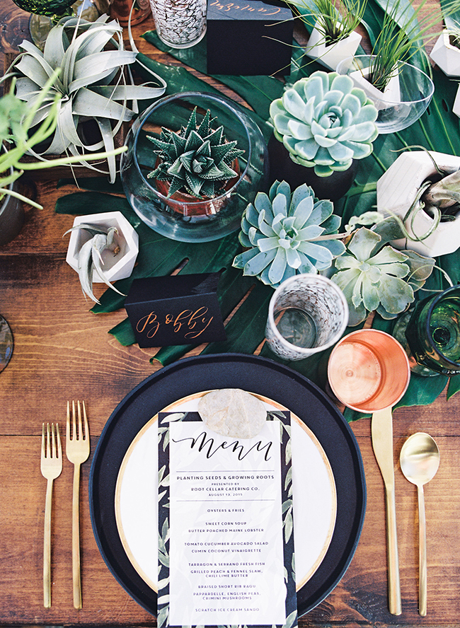 Earthy Outdoor Dinner Party - Inspired by This