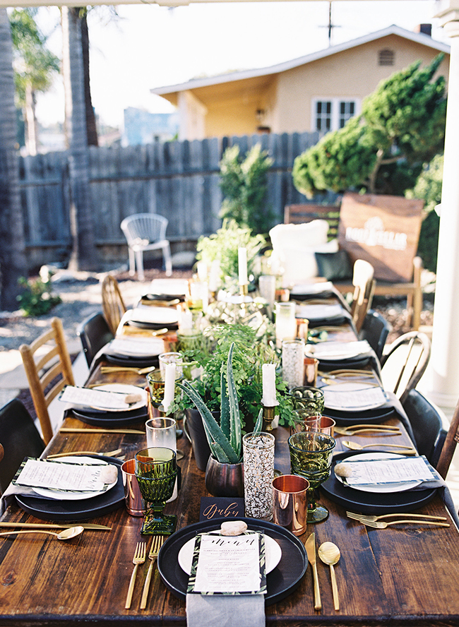 Earthy Outdoor Dinner Party Inspired By This