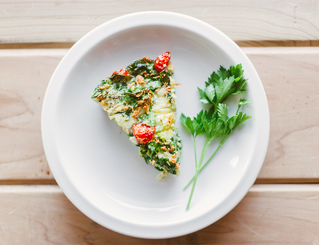 Vegetable Breakfast Frittata - Inspired by This