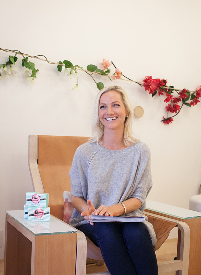 Chatting with Bling Wipes Founder Ellie Richardson - Inspired by This