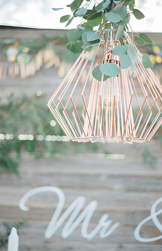 Blush & Gold Summer Wedding - Inspired by This
