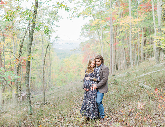 Mountain Maternity Photos in Georgia - Inspired by This