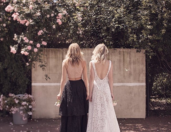 Mix & Match Bridesmaid Dresses - Inspired by This