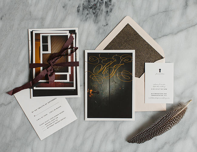 Shindig Bespoke Stationery Studio Tour - Inspired by This